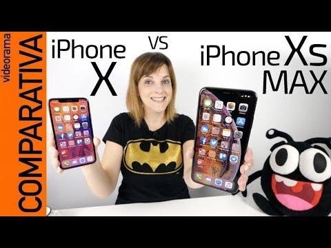 IPhone Xs MAX Vs IPhone X -COMPARATIVA Y Novedades-
