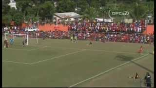 2014 OFC Champions League - Final 1st Leg - Amicale FC vs Auckland City FC Highlights