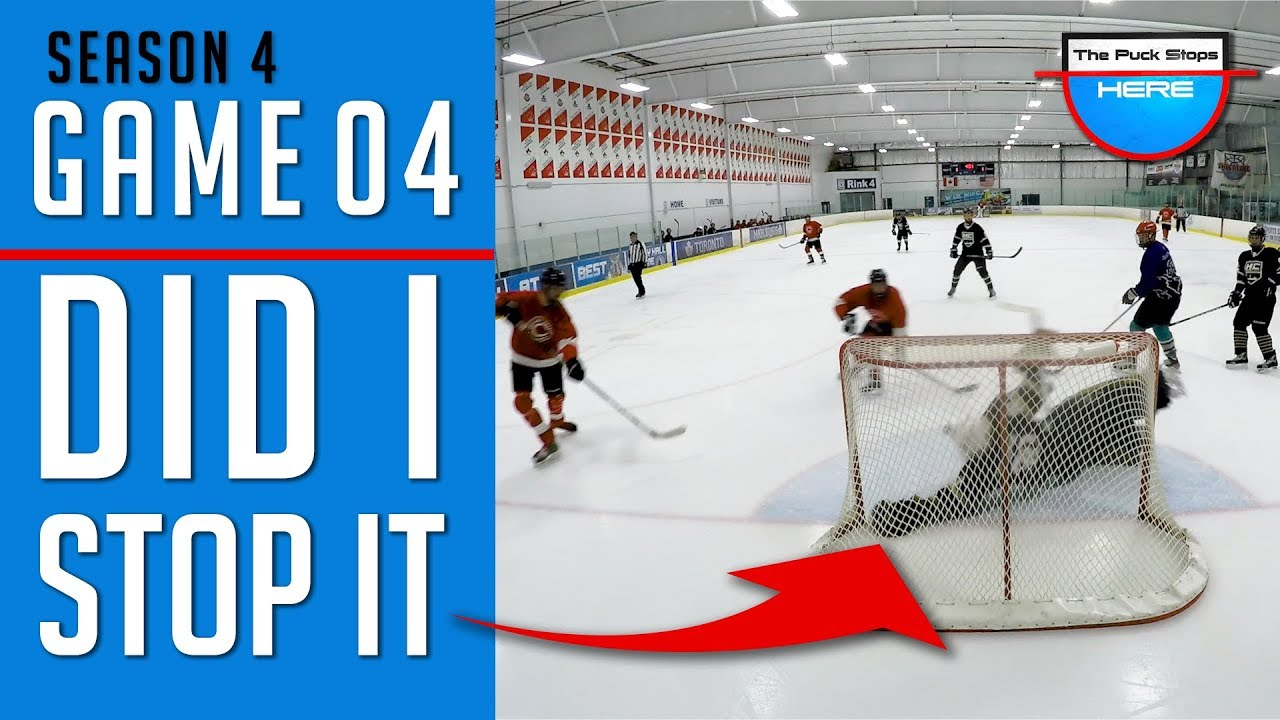 Did I Stop It Gopro Hockey Goalie Hd Winter Season Game 4 Youtube