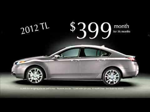 The New 2012 Acura TL Available at Mike Hale Acura - YouTube Acura Youtube on