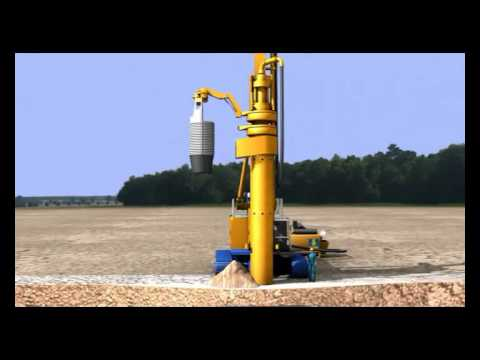 Animation BAUER BG - ROTARY DRILLING SYSTEM