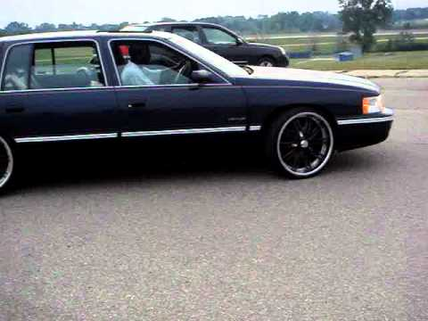 98 Cadillac Deville On 22 S Youtube