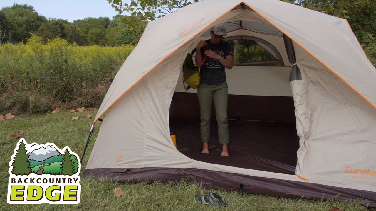 Eureka Sunrise EX 6 3-Season C&ing Tent & Eureka Sunrise EX 6 3-Season Camping Tent - YouTube