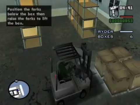 Gta San Andreas - Mission #12 Robbing Uncle Sam ( Việt Nam Gamer )