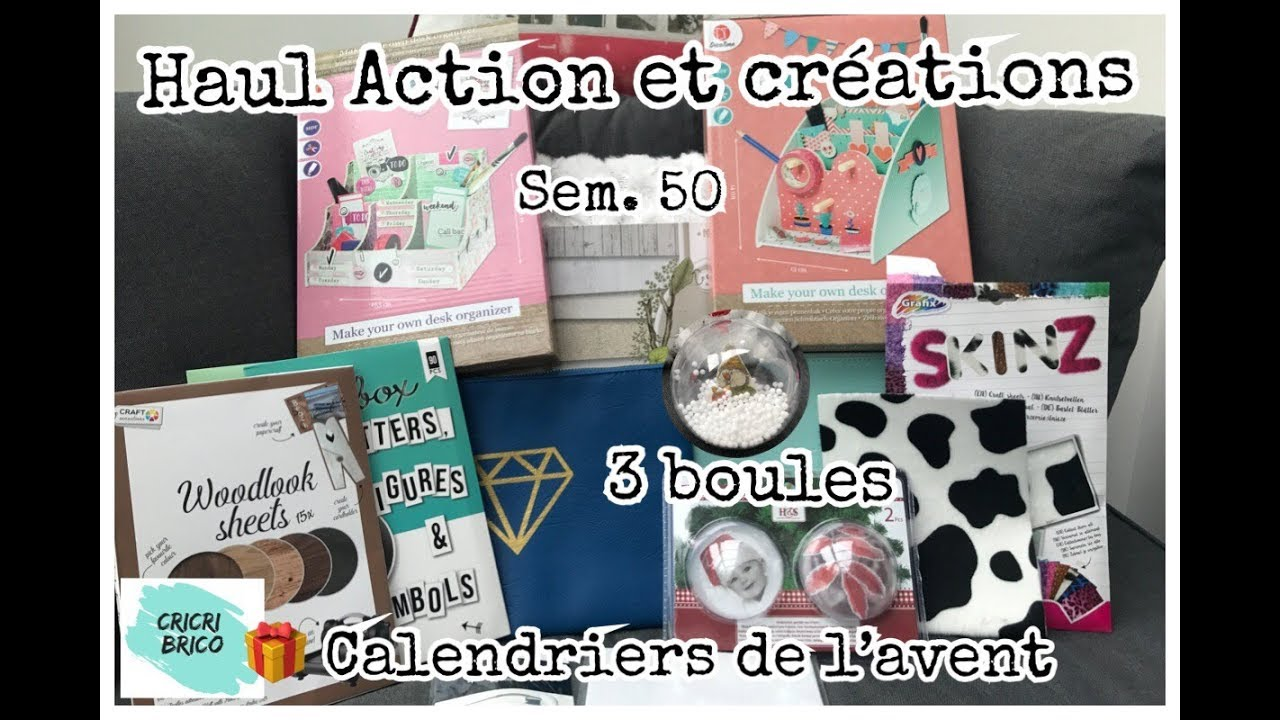 Calendrier Scrapbooking.Action Haul Tests 3 Creations Scrapbooking Sem 50 Calendrier De L Avent