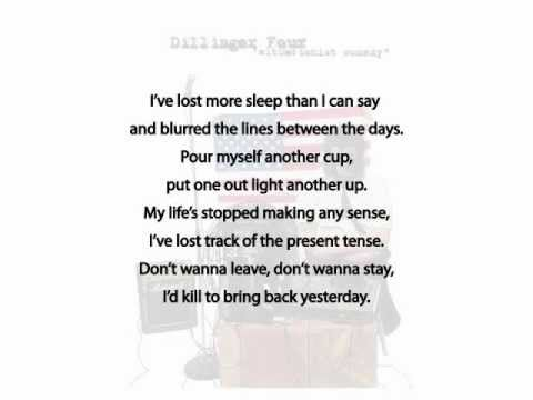 Dillinger Four SelltheHouseSelltheCarSelltheKids...W/ Lyrics