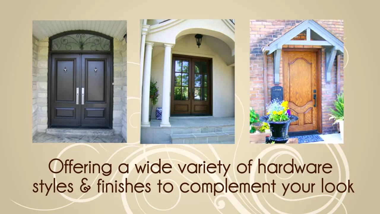 Home Decor Windows and Doors Front Door Toronto Entry Doors Toronto Fiberglass Doors Toronto - YouTube & Home Decor Windows and Doors Front Door Toronto Entry Doors ...