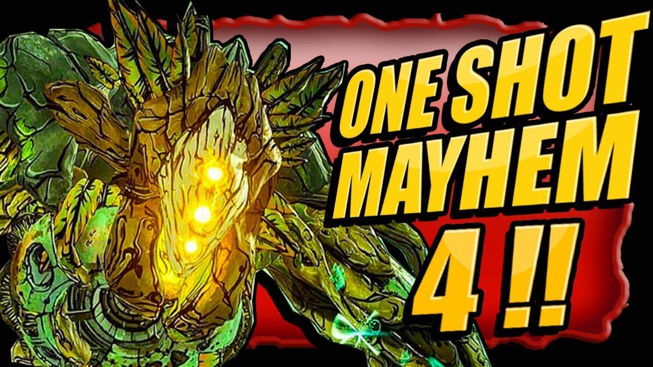 How To One Sh0t Graveward On Mayhem 4 Legendary Farming Borderlands 3 Youtube