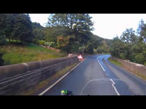 Yorkshire Dales MotorBike TV Tour Self Guided MotorBike MotorBike Friendly Guide Tour Stage 1