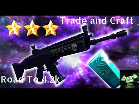"""""""FORTNITE save the world trade and craft stream """"!!""""LIVE STREAM""""ROAD TO 4.2k LET'S GET IT !!!!G"""