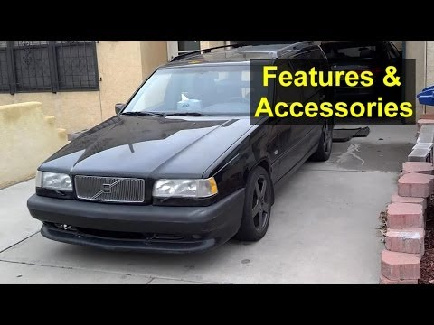 Volvo 850, S70, V70 Dash Lights, Switches, Features And Accessories - VOTD
