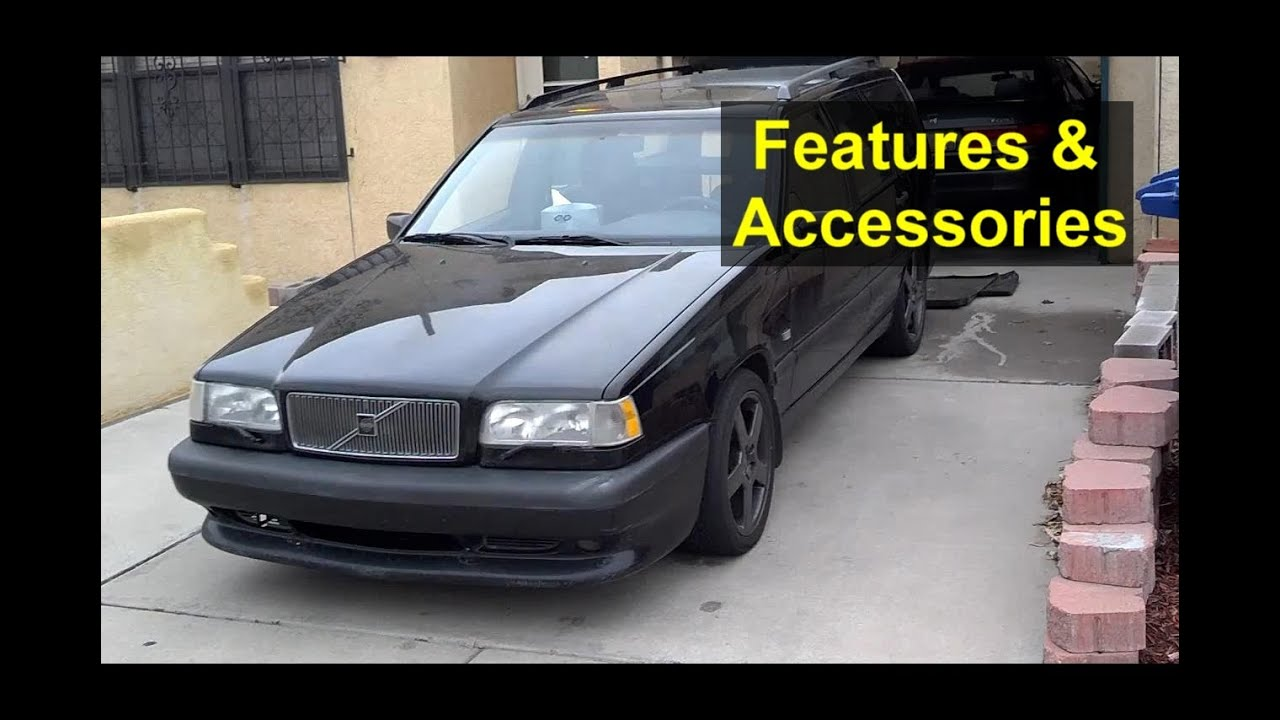 hight resolution of volvo 850 s70 v70 dash lights switches features and accessories votd