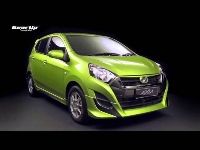 GearUp Perodua - Perodua Originals Accessories For Axia