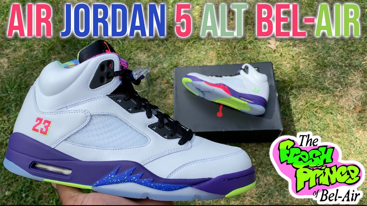 AIR JORDAN 5 ALTERNATE BEL-AIR ARE CRAZY FIRE 🔥 THESE SNEAKERS WILL SELL OUT