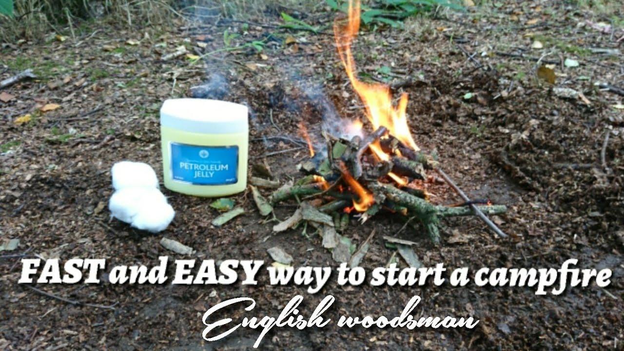 How to Start a Bonfire