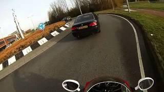 Gopro yamaha fzr 600 vs BMW 3.3.5 286 pk