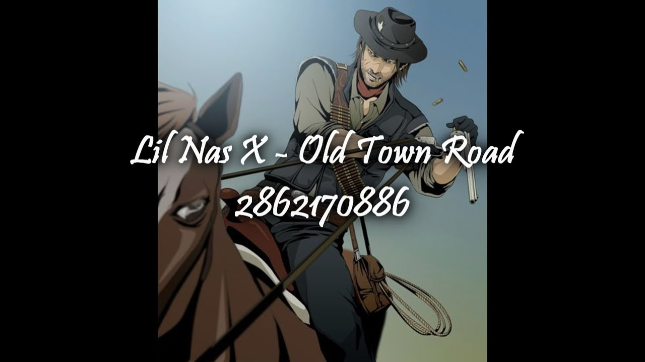 roblox radio id old town road