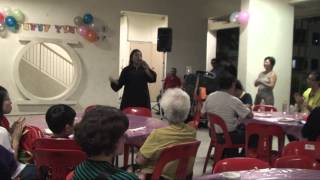 Cantonese Song  Nurul Rahila Gansa Rd  16 9 2014   National Day Dinner