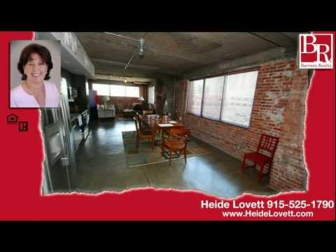Ultra Modern Loft for Sale in El Paso, Texas