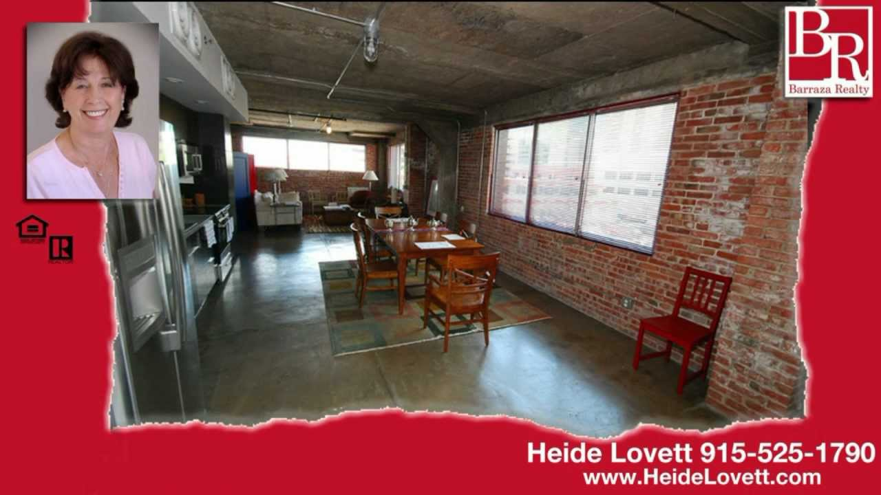 ultra modern loft for sale in el paso texas