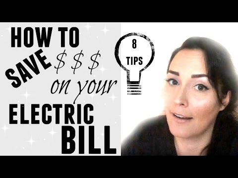 life-hacks-●-how-to-save-money-on-your-electric-bill-●-8-tips-●-frugal-living