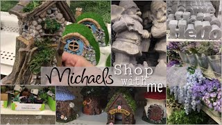 Michaels shop with me fairy garden spring collection