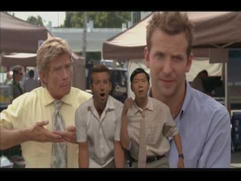 Sandra Bullock Bradley Cooper Ken Jeong singing I wanna ...