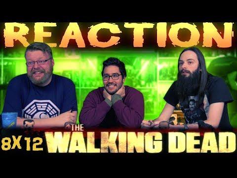 The Walking Dead 8x12 REACTION!!