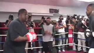 Roy Jones, Jr  Workout 11/03/08 in prep for Joe Calzaghe