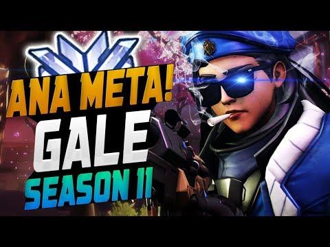 Gale - Ana Meta! He's Best Ana? [ OVERWATCH SEASON 12 TOP 500 ] thumbnail