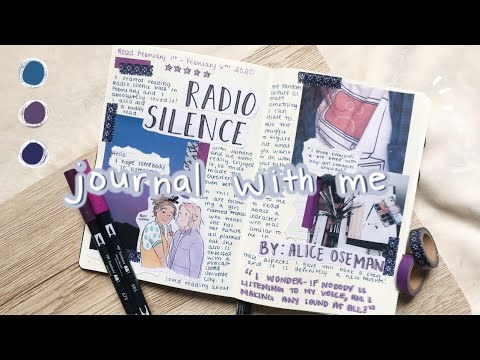 JOURNAL WITH ME | Radio Silence By Alice Oseman