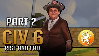 Video A DARK AGE IS COMING - Let's Play Civilization 6: Rise and Fall - Netherlands - Part 2 download MP3, 3GP, MP4, WEBM, AVI, FLV Maret 2018