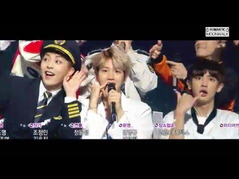 EXO (엑소) - 불공평해 (Unfair) 무대 교차편집 [Live Compilation/Stage Mix]