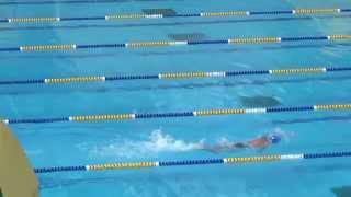 2014元朗區小學校際游泳 男丙 4x50自由接力 鐘聲