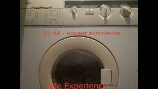 Як включити пральну машину Zanussi wds 872c + Інструкція