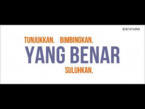 Yang Benar - Rabbani (Typography Lyrics)