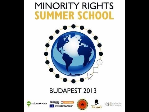 Minority Rights Summer School