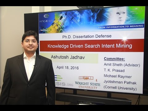 Ashutosh Jadhav: Knowledge-driven Search Intent Mining