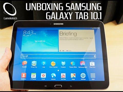galaxy tab 3 10 1 desempacado unboxing espa ol   youtube