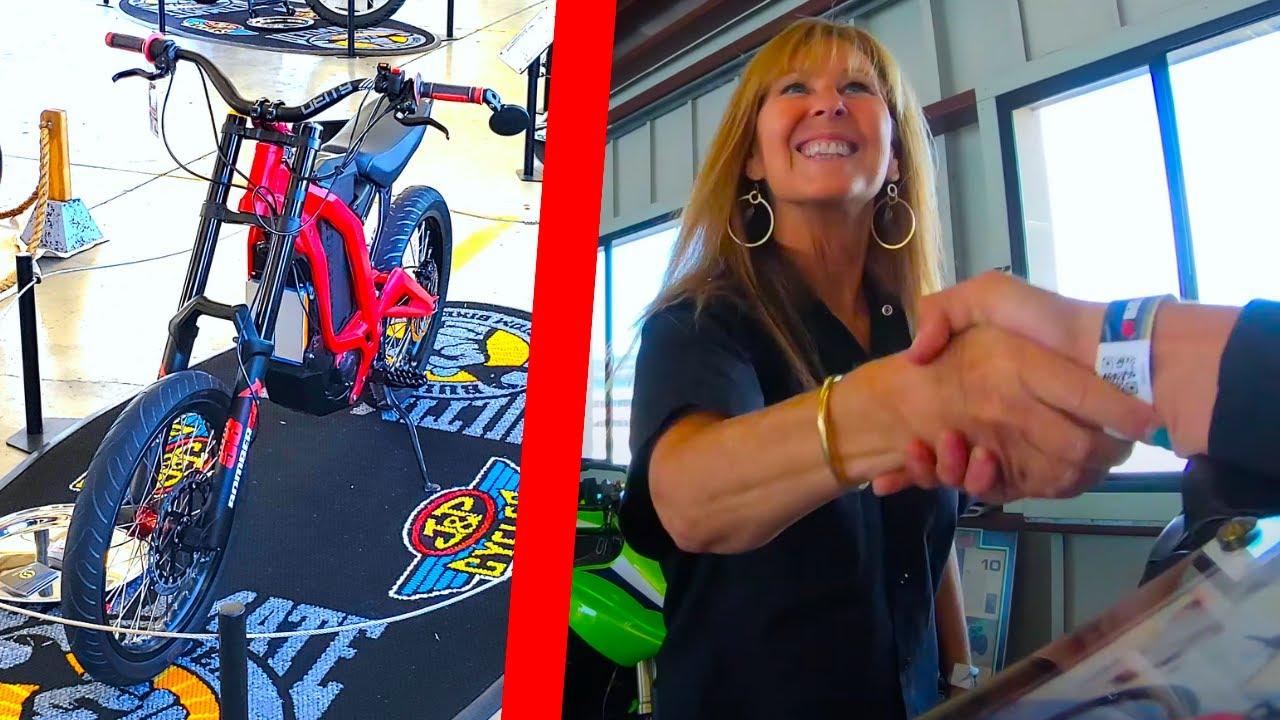 My E-Bike Won A Motorcycle Show