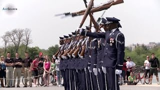 US Air Force Honor Guard AWESOME Performance