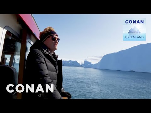 Conan Buys Waterfront Property In Greenland | CONAN on TBS