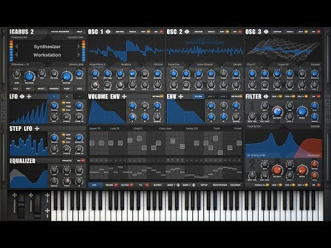 Tone2 Icarus2 factory sounds