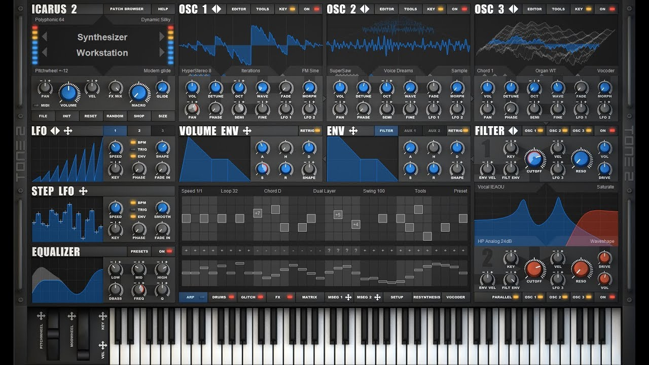 Tone2 Announced Icarus 2, Wavetable Meets Workstation