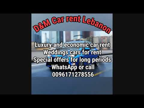 Cars rent Lebanon -  automobile hire in Beirut