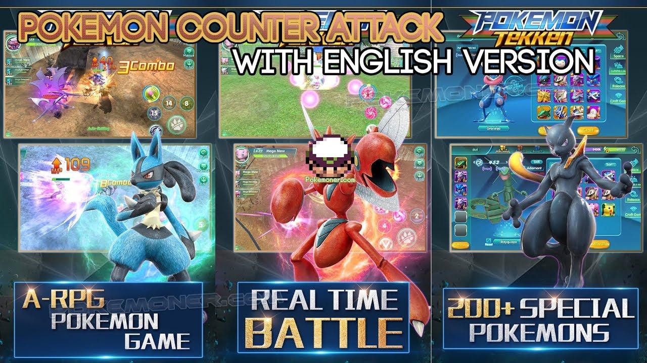 Mobile Pokemon Tekken Pokemon Counter Attack English Pokemoner Com