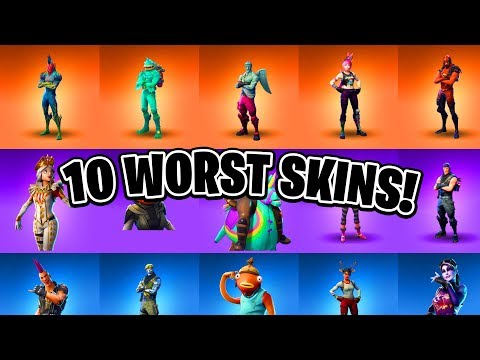 10 WORST Fortnite Skins EVER! (You Really Don't Want These)