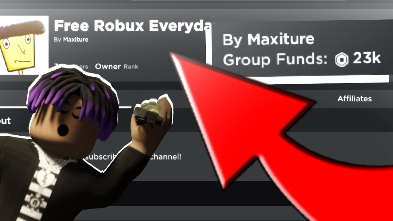 This Roblox Group Will Give You Free Robux How To Get Free Robux