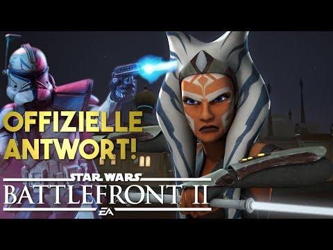 Ahsoka und Rex! Klon Anpassungen und mehr! Star Wars Battlefront 2 News Deutsch