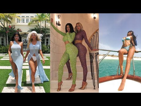 Kylie Jenner Took Stormi and All Her Girls to Turks and Caicos For a Lavish Vacation thumbnail